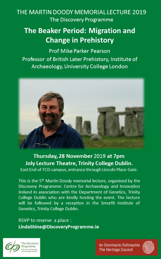 Martin Doody 2019 lecture poster