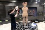 Using the Artec Eva close range scanner to record the