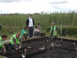Open day at the Derragh Island excavations Co. Longford
