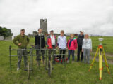 Discovery Programme and RGK staff conducting a geophysical survey at Skreen, Co. Meath
