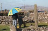 Recording Ogham stones with community volunteers