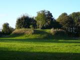 A motte castle at Newcastle Lyons, County Dublin