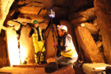 Recording the chambered tomb of Knowth using the Faro 3D terrestrial laser scanner