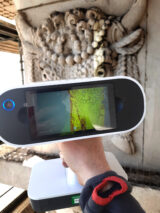Using the Artec Leo Scanner to record architectural detail on the Customs House, Dublin