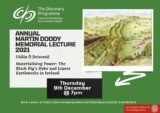 Poster for Martin Doody Memorial Lecture 2021